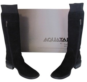 Aquatalia by Marvin K. Suede black Boots