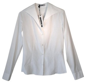 Jil Sander Button Down Shirt White