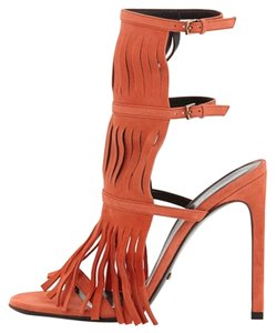 Gucci Becky Heels Orange Pumps