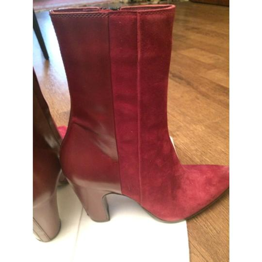 CoSTUME NATIONAL Burgundy Boots
