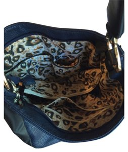 Navy blue and black bag Hobo Bag