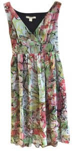 Jonathan Martin short dress Green, black, yellow, pink, orange on Tradesy