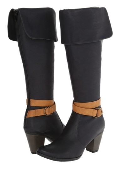 C Label Black/Brown Boots Image 0