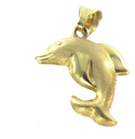 Preload https://img-static.tradesy.com/item/7454632/gold-14k-yellow-pendant-dolphin-hollow-no-scrap-20-grams-fine-italy-charm-0-0-540-540.jpg