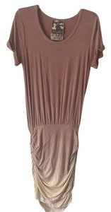 Young Fabulous & Broke short dress Brown and cream on Tradesy