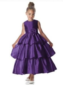 Dessy 4028.....flower Girl / Special Occasion Dress.....majestic....sz .2