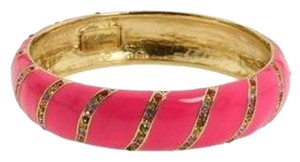 Kate Spade Fantastic for Stacking! Kate Spade Pink Crystal Lollie Bracelet NWT Bright & Chic!