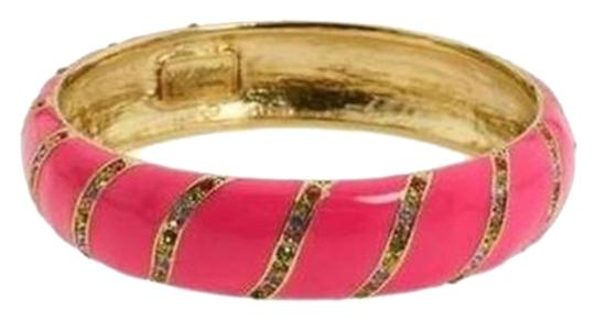 Preload https://img-static.tradesy.com/item/7456378/kate-spade-pink-with-pave-accents-fantastic-for-stacking-crystal-lollie-bright-and-chic-bracelet-0-1-540-540.jpg