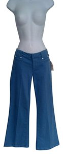 JOE'S Trouser/Wide Leg Jeans-Light Wash