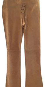 Guess Flare Pants Camel