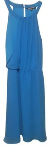 Gianni Bini short dress Blue on Tradesy