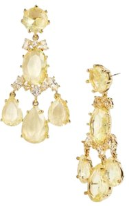 Kate Spade Gorgeous & Unforgettable! Kate Spade Up the Ante Earrings NWT Gorgeous Chandelier Earrings Yellow-Gold Hue