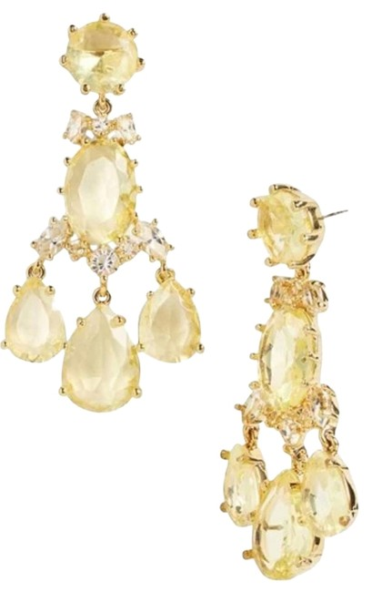 Kate Spade Yellow & Gold Hues Unforgettable Up The Ante Chandelier Yellow-gold Hue Earrings Kate Spade Yellow & Gold Hues Unforgettable Up The Ante Chandelier Yellow-gold Hue Earrings Image 1
