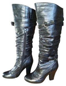 Nordstrom Winter black leather Boots