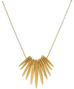 Michael Kors Michael Kors Tribal Matchstick Spike Pendant Necklace MKJ4505
