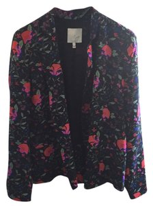 Joie Floral black red blue pink green Blazer