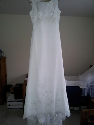 Gloria vanderbilt tank style wedding dress tradesy weddings for Gloria vanderbilt wedding dress
