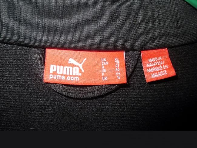 Puma Puma Black Running Jacket with White and Pink Accents (Size XL) Image 4