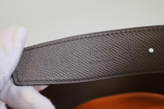 Hermès Hermes Constance 24mm Belt Strap in Bamboo and Etain 70 Image 1