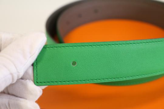 Hermès Hermes Constance 24mm Belt Strap in Bamboo and Etain 70 Image 4