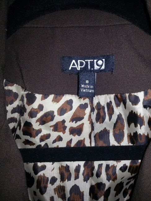 Apt. 9 Brown Suit Jacket