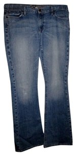 Abercrombie & Fitch 12 Long Flare Leg Jeans-Medium Wash