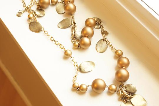 Target Gold Necklace