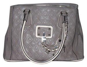 Guess Satchel in Taupe and cream