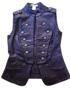 Moon Collection Vintage Leather Vest