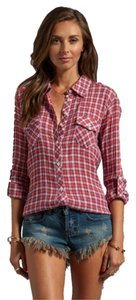 C&C California Shirt C & C Button Down Shirt Red