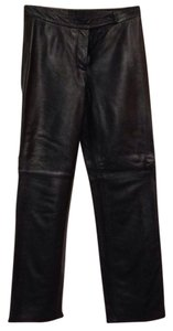 INC International Concepts Straight Pants blak