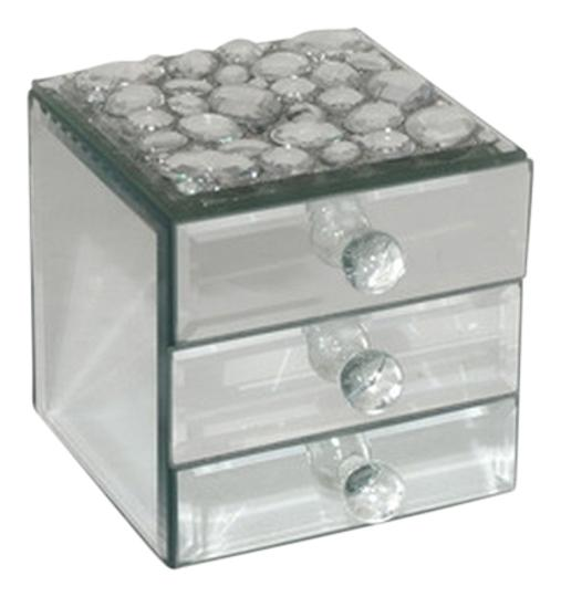 Three Hands Gem Jewelry Box