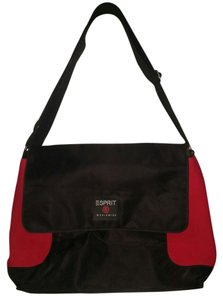Esprit Black and Red Travel Bag