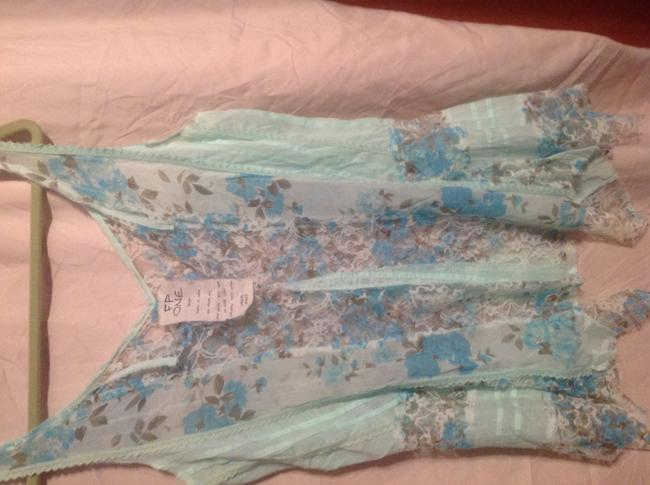 FP one Top Turquoise blue