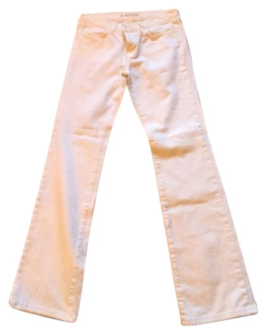 Item - White Boot Cut Jeans Size 28 (4, S)