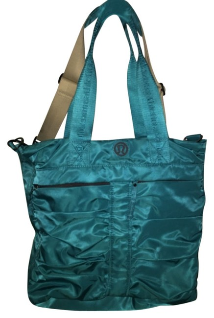 Item - Teal Nylon Weekend/Travel Bag