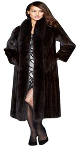 The Fur Vault Macy's Mink Fox Fur Coat