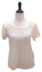 Madewell Lace Top White
