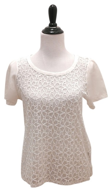 Madewell Jcrew Lace Theory Lace Tory Burch Top White