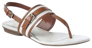 Chaps Brown & White Sandals