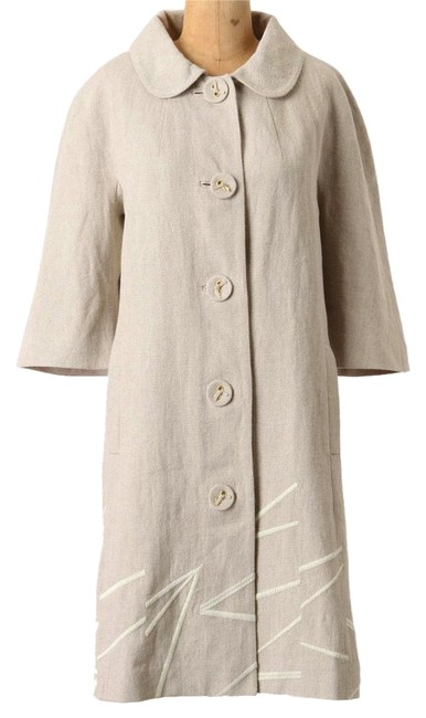 Anthropologie Classic O Timeless Ivory Jacket Image 1
