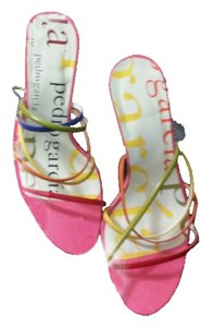 Pedro Garcia MULTI RED,GREEN,BLUE, PINK, ORANGE Sandals