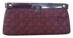 Vera Bradley Plum Women Quilted Clutch