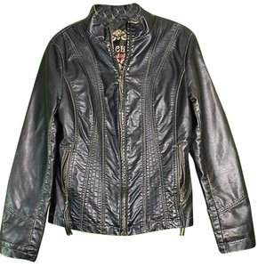 Big Chill Vintage Non-leather Leather Jacket