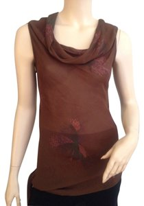Isabel Marant France Size 2 Top Brown