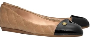 Tory Burch CLAY BEIGE BLACK Flats