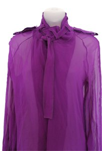 Tom Ford Blouse Button Down Button Down Shirt Purple
