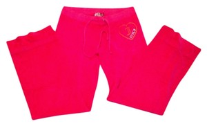 Juicy Couture Terry Relaxed Pants HOT PINK