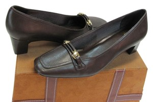 LifeStride Very Good Condition Size 9.00 Width Wide Brown Pumps