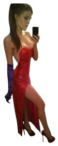 Elle Evans Costume Jessica Rabbit Dress